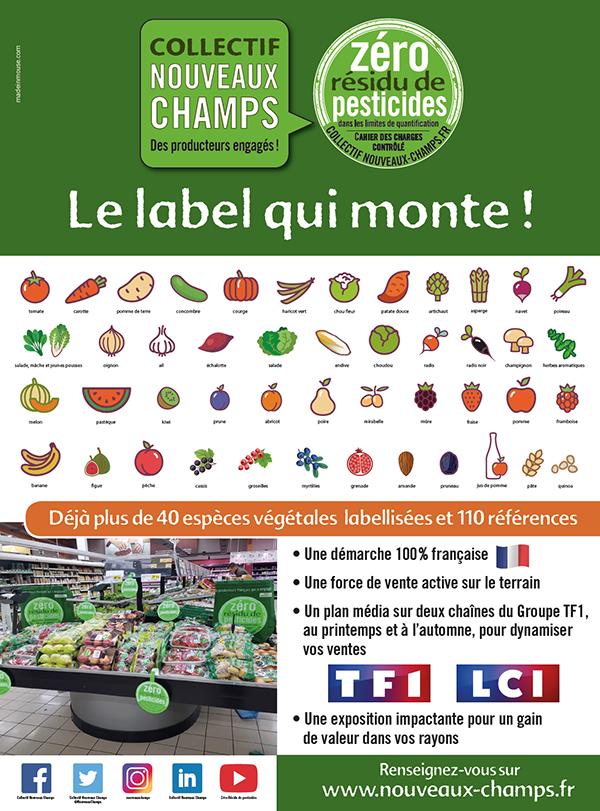 http://madeinmouse.comAvril 2019, Zéro Résidu de Pesticides : le label qui monte !
